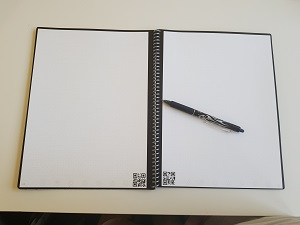 Pages of the Rocketbook