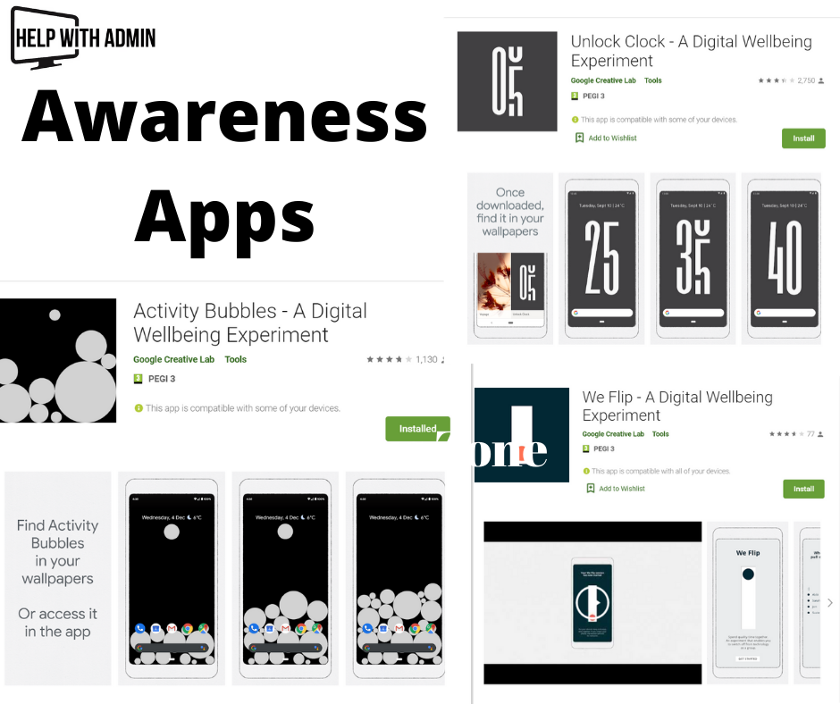 Phone Use Awareness Apps